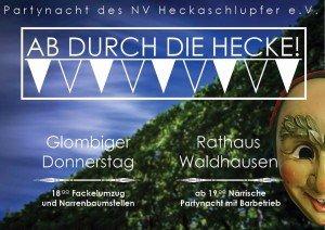 Ab durch die Hecke - Partynacht in Waldhausen bei Riedlingen